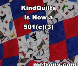 KindQuilts is Now a 501(c)(3)