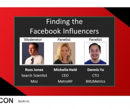 Tips on Finding Social Media Influencers from Pubcon 2015