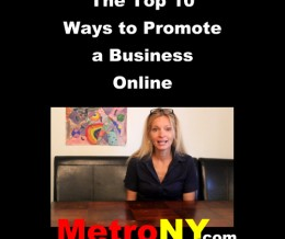 The Top 10 Ways to Promote a Business Online