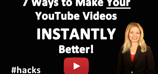 Seven Ways to Instantly Make Your YouTube Videos Better