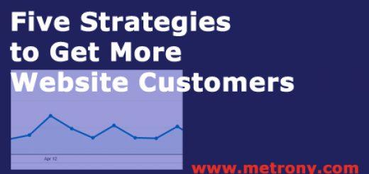 FIve Strategies to Get Website Customers