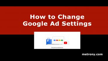 Change Google Ad Settings