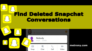 Snapchat Find Deleted Conversations